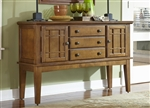 Santa Rosa Server in Mission Oak Finish by Liberty Furniture - 25-SR400