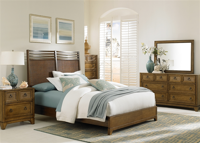 Miramar 6 Piece Bedroom Set in Blonde Finish by Liberty Furniture
