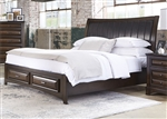 Knollwood Storage Bed in Dark Cognac Finish by Liberty Furniture - 258-BR-QSB