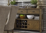 Havenbrook Sideboard in Rustic Russet Finish by Liberty Furniture - 262-SB6238