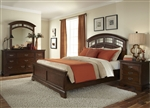 Parkwood Panel Bed 6 Piece Bedroom Set in Cognac Finish by Liberty Furniture - 275-P