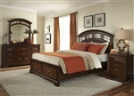 Parkwood Storage Bed 6 Piece Bedroom Set in Cognac Finish by Liberty Furniture - 275-ST