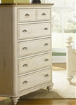 Ocean Isle Chest in Bisque with Natural Pine Finish by Liberty Furniture - 303-BR41