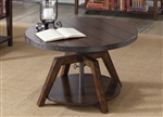 Aspen Skies Motion Cocktail Table in Russt Brown Finish by Liberty Furniture - 316-OT1011