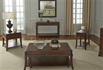 Brighton Park Cocktail Table in Dark Honey Finish by Liberty Furniture - 363-OT1010