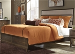 Hudson Square Panel Bed in Espresso Finish by Liberty Furniture - 365-BR-QPB