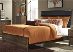 Hudson Square Panel Bed in Espresso Finish by Liberty Furniture - 365-BR-QUB
