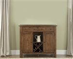 Hearthstone Server in Oak Finish by Liberty Furniture - 382-SR5074