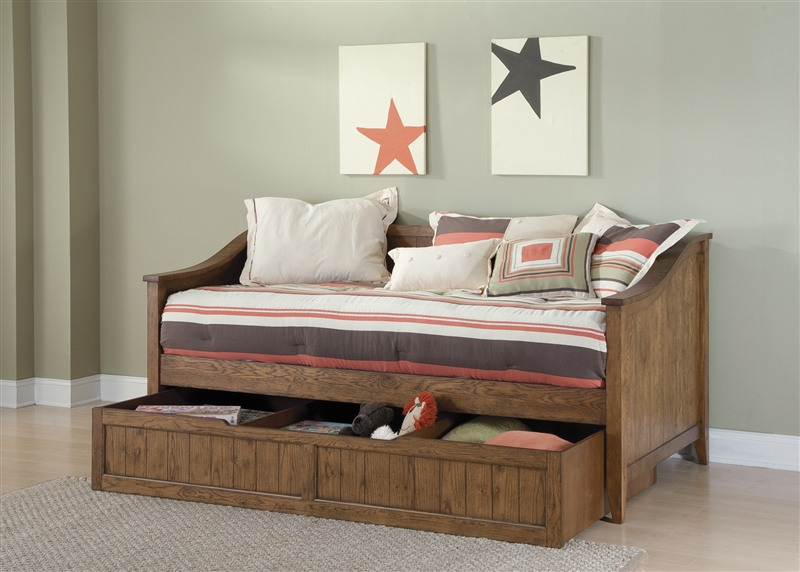 Hearthstone Daybed In Rustic Oak Finish By Liberty