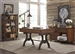 Arlington House 3 Pc Home Office Set in Cobblestone Brown Finish by Liberty Furniture - 411-HO