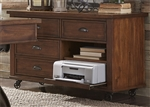 Arlington House Credenza in Cobblestone Brown Finish by Liberty Furniture - 411-HO121