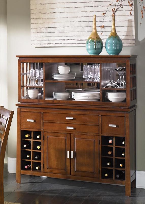 Superb Scottsdale Bar Server U0026 Hutch In Rustic Espresso Finish By Liberty Furniture    422 SR5056H