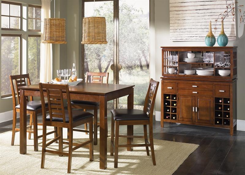 Scottsdale Bar Server U0026 Hutch In Rustic Espresso Finish By Liberty Furniture    422 SR5056H