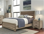 Sun Valley Upholstered Bed in Sandstone Finish by Liberty Furniture - 439-BR-QUB