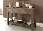 Stone Brook Server in Rustic Saddle Finish by Liberty Furniture - 466-SR6438