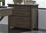 Sonoma Road Lateral File in Weather Beaten Bark Finish by Liberty Furniture - 473-HO145