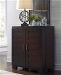 Pebble Creek Wine Cabinet in Weathered Tobacco Finish by Liberty Furniture - 476-WC3742