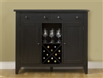 Hearthstone Server in Black Finish by Liberty Furniture - 482-SR5074