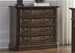 Amelia Jr Executive Lateral File in Antique Toffee Finish by Liberty Furniture - 487-HO146