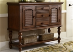 Summer House Server in Cherry Finish by Liberty Furniture - 507-SR5239