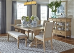Harbor View Trestle Table 6 Piece Dining Set in Sand Finish by Liberty Furniture - 531-DR-O6TRS