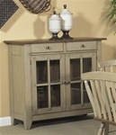 Al Fresco Server in Driftwood & Taupe Finish by Liberty Furniture - 541-SR5043
