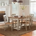 Al Fresco 5 Piece Dining Set in Driftwood & Taupe Finish by Liberty Furniture - 541-T4074