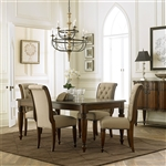Cotswold Rectangular Leg Table 5 Piece Dining Set in Cinnamon Finish by Liberty Furniture - 545-DR