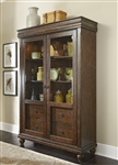 Rustic Tradition Display Cabinet in Rustic Cherry Finish by Liberty Furniture - 589-CH5278
