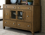 Town & Country Buffet in Sandstone Finish by Liberty Furniture - LIB-603-CB6085