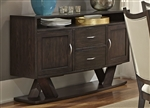 Southpark Server in Charcoal Finish by Liberty Furniture - 623-SR5636