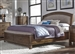 Avalon Upholstered Storage Bed in Pebble Brown Finish by Liberty Furniture - 705-BR-QSB