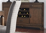 Avalon Server in Pebble Brown Finish by Liberty Furniture - LIB-705-SR5637