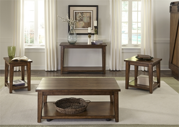 Lancaster Entertainment Center In Antique Brown Finish By Liberty Furniture    712 ENTW ECP