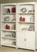 Hampton Bay Open Bookcase in White Finish by Liberty Furniture - 715-HO201