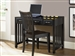 Hampton Bay Writing Desk in Black Finish by Liberty Furniture - 717-HO111D