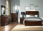 Alexandria 6 Piece Bedroom Set in Autumn Brown Finish by Liberty Furniture - 722-BR