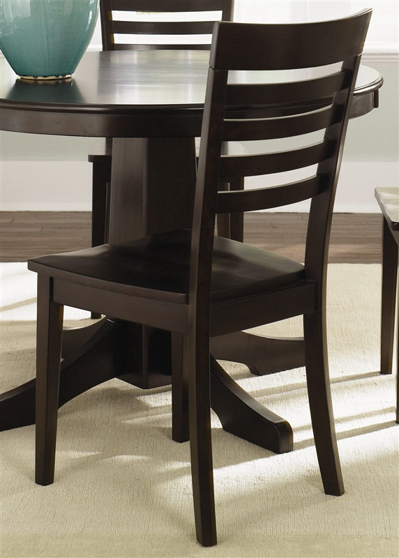 Cafe Collections Drop Leaf Table 3 Piece Dining Set In Merlot Finish By  Liberty Furniture   73 T3048