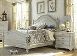 Harbor View Poster Bed in Dove Gray Finish by Liberty Furniture - 731-BR-QPS