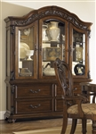 Messina Estates Buffet & Hutch in Cognac Finish by Liberty Furniture - 737-CB6384