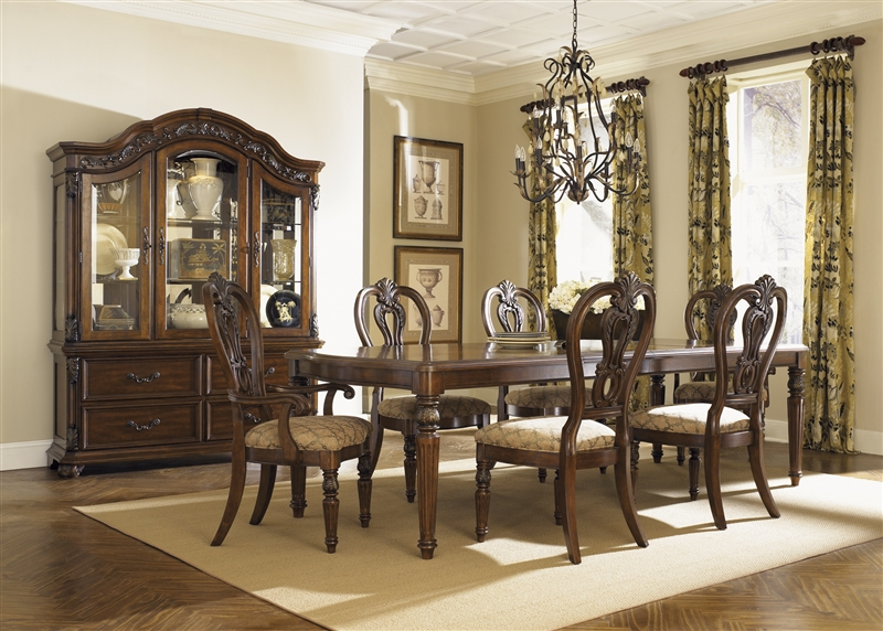 Messina Estates 7 Piece Dining Set In Cognac Finish By Liberty Furniture    737 DR Part 97