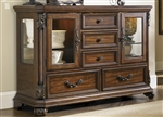 Messina Estates Server in Cognac Finish by Liberty Furniture - 737-SR5438