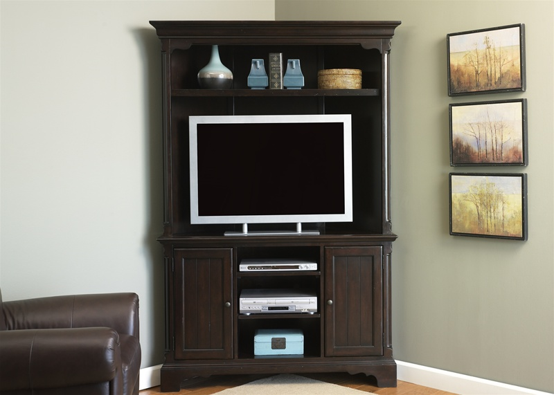 Carriage House Corner Entertainment Center 48 Inch Tv In