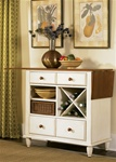 Low Country Server in Linen Sand with Suntan Bronze Finish by Liberty Furniture - 79-SR3636