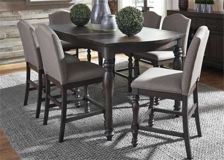 Catawba Hills Gathering Counter Height Table 5 Piece  : LIB 816 DR 5GTS 2 from www.homecinemacenter.com size 750 x 535 jpeg 388kB