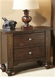 Southern Pines Nightstand in Bark Finish by Liberty Furniture - 818-BR61