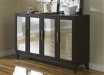 Platinum Server in Satin Espresso Finish by Liberty Furniture - 861-SR6038