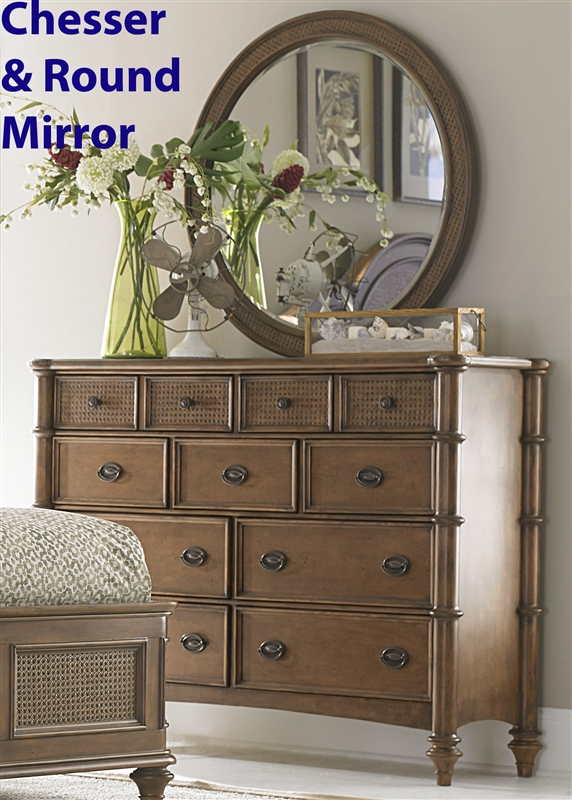 Nice Sunset Key Poster Bed In Sienna Finish By Liberty Furniture   891 BR QPS
