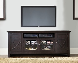 piedmont 75 inch tv stand in dark mocha finish by liberty furniture 955 tv00. Black Bedroom Furniture Sets. Home Design Ideas
