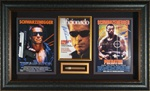 "Arnold Schwarzenegger ""Action Hero"" Autographed Home Theater Display"